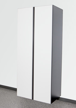 White / Slate Cabinet Option